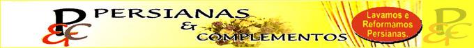 PERSIANAS E COMPLEMENTOS